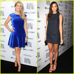 Ashley Madekwe & Stephanie Leigh Schlund: Who What Wear's Style Driven Party Pair