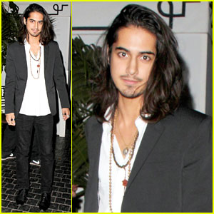 Avan Jogia: Night Out at Chateau Marmont
