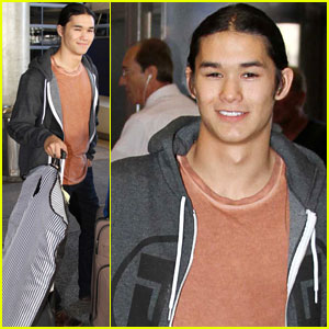Booboo Stewart: Back in L.A. After China Trip