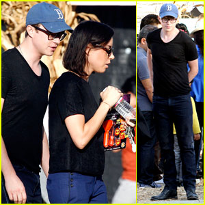 Dane DeHaan: Pumpkin Picking with Aubrey Plaza!