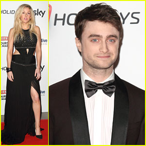 Daniel Radcliffe & Ellie Goulding: Attitude Magazine Awards 2013