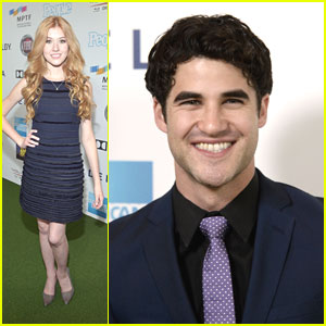 Darren Criss: 'One Night Only with Hugh Jackman' & Katherine McNamara