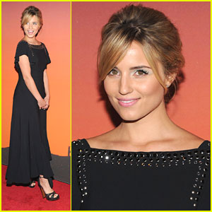 Dianna Agron: Whitney Museum Art Gala & Studio Party 2013