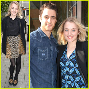 Evanna Lynch: 'Houdini' Promo in Dublin
