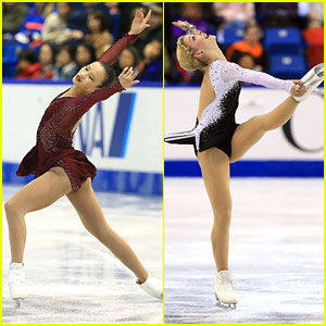 Gracie Gold & Christina Gao: First & Fourth at Skate Canada Day 1