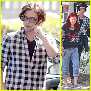 Jackson Rathbone Wears Wedding Ring with Sheila Hafsadi