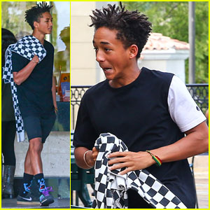 Jaden Smith Attended Kanye West's Proposal to Kim Kardashian