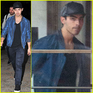 Joe Jonas: Solo Recording Session?