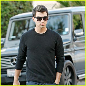 Joe Jonas Steps Out Solo after Jonas Brothers Tour Cancellation