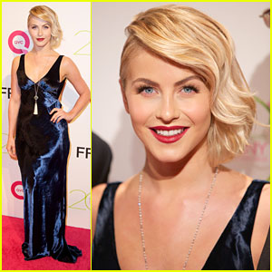 Julianne Hough: QVC Presents FFANY Shoes For Sale Event