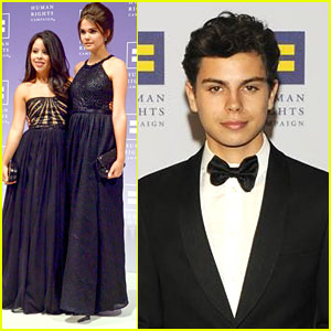 Maia Mitchell & Jake T. Austin Honor Jennifer Lopez at HRC Dinner in D.C.