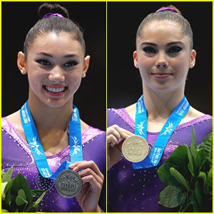 McKayla Maroney Grabs Gold on Vault; Kyla Ross Second in All-Around in Antwerp