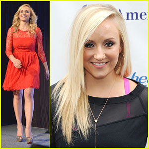 Nastia Liukin: Salute to Women In Sports Awards 2013