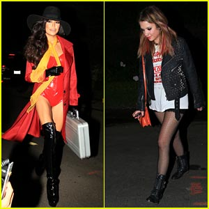 Naya Rivera & Ashley Benson: Kate Hudson's Halloween Party