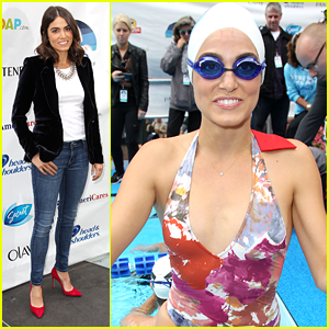 Nikki Reed: Swim for Relief in NYC