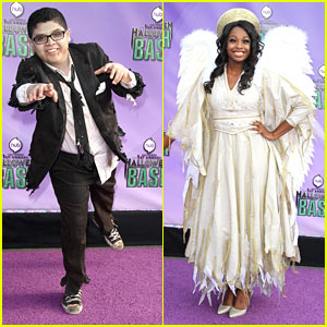 Rico Rodriguez & Coco Jones: The Hub's Halloween Bash 2013