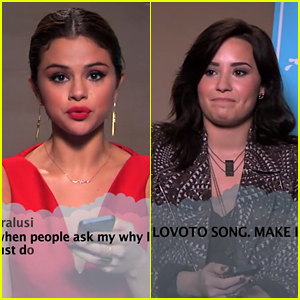 Selena Gomez & Demi Lovato Read 'Mean' Tweets - Watch Now!