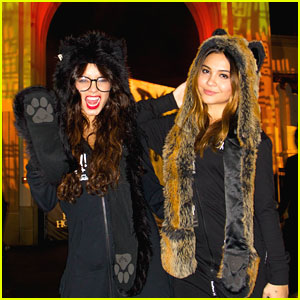 Vanessa Hudgens: Halloween Horror Nights Visit!