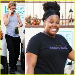 Amber Riley: 'Glee' Co-Stars React to 'DWTS' Results!