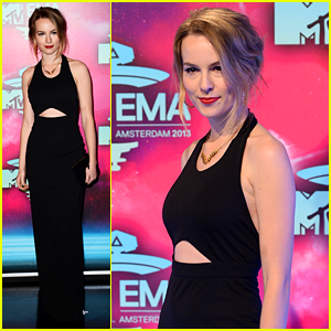 Bridgit Mendler - MTV EMA 2013 Red Carpet