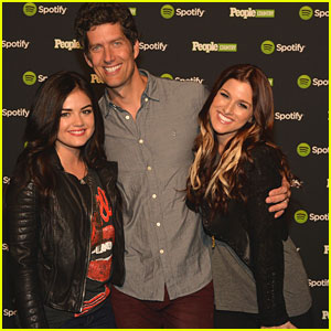 Lucy Hale & Cassadee Pope: 'Jennifer Nettles And Friends Live' Event