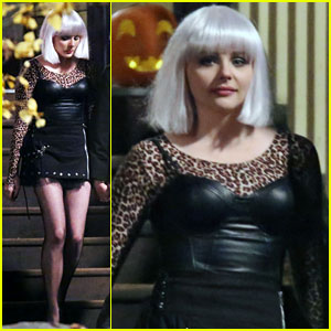 Chloe Moretz: White Wig for 'If I Stay'