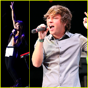 Christina Grimmie: 'Stars Dance' Tour with Emblem3