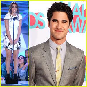 Darren Criss & Chloe Bennet - TeenNick HALO Awards 2013