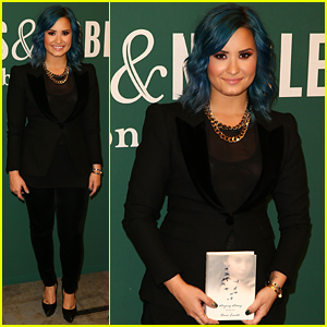 Demi Lovato: 'Staying Strong' Book Signing Beauty