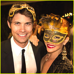 Drew Seeley & Amy Paffrath: Thirst Project Masquerade Dinner 2013