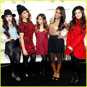 Fifth Harmony: Lord & Taylor Flagship Holiday Window Unveiling