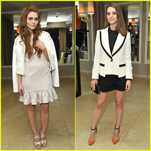 Holland Roden & Lyndsy Fonseca: Rachel Zoe Report ReLaunch Event