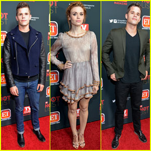 Holland Roden: 'TV Guide' Hot List Party with Max & Charlie Carver!