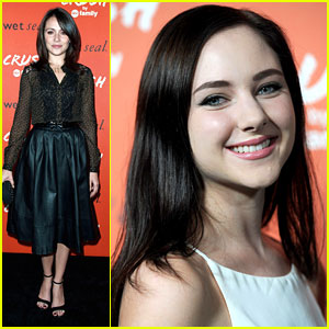 Italia Ricci & Haley Ramm: Crush by ABC Family Launch