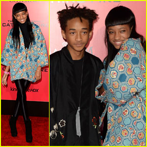 Jaden & Willow Smith: 'The Hunger Games: Catching Fire' L.A. Premiere