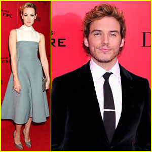 Jena Malone & Sam Claflin: 'The Hunger Games: Catching ...