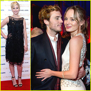 Jennifer Lawrence: 'Catching Fire' After Party in London!