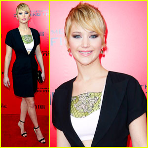 Jennifer Lawrence: 'The Hunger Games: Catching Fire' NYC Premiere
