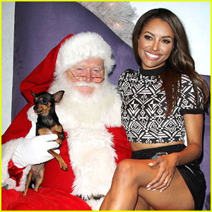 Kat Graham Kicks Off Holiday Pet Portraits!