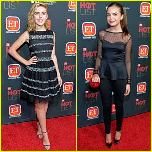 Kiernan Shipka & Bailee Madison: 'TV Guide' Hot List Party 2013