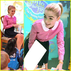 Kiernan Shipka: 'Sofia The First' Reading Session