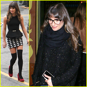 Lea Michele: Still Driving Cory Monteith's Range Rover