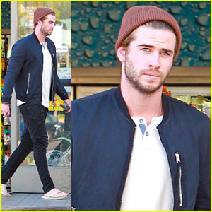 Liam Hemsworth: Convenient Store Stop
