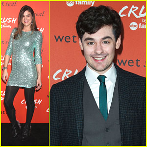 Lindsey Shaw & Brendan Robinson: Crush by ABC Family Launch