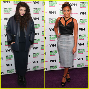Lorde & Adrienne Bailon: VH1 'You Oughta Know In Concert' 2013