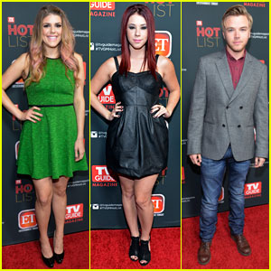 Molly Tarlov & Jillian Rose Reed: 'TV Guide' Hot List Party with Brett Davern!