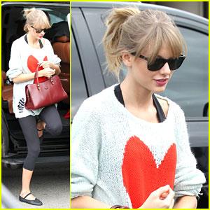 Taylor Swift: Dance Class Ahead of AMA Awards 2013