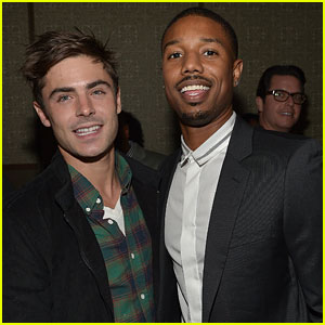 Zac Efron Attends Vanity Fair Event Honoring Michael B. Jordan!