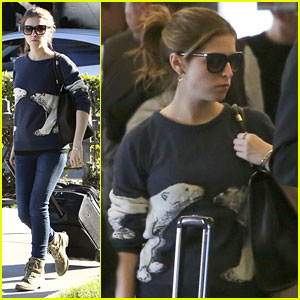 Anna Kendrick: Back in Los Angeles After D.C. Trip!