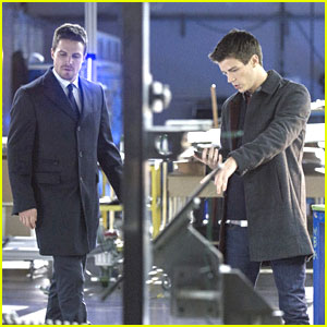 Grant Gustin: First 'Arrow' Appearance Tonight!